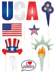 11 USA photobooth accessoires