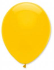 6 gele ballonnen 30 cm