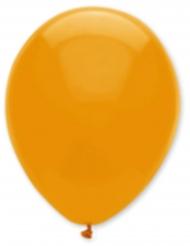 6 oranje ballonnen
