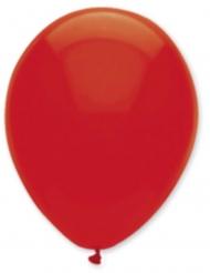 6 rode ballonnen 30 cm
