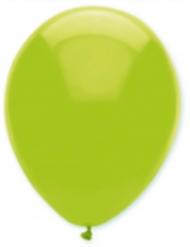 6 limoen kleurige ballonnen