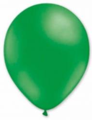 6 donker groene ballonnen 30 cm