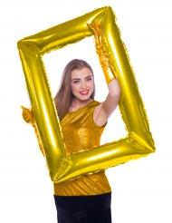 Gouden fotolijst ballon