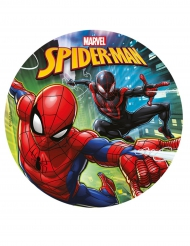 Eetbare schijf Spiderman™ 20 cm