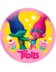Eetbare schijf Trolls™