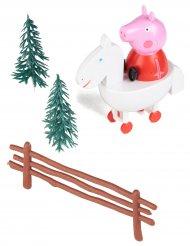 Peppa Pig™ taart decoratie set