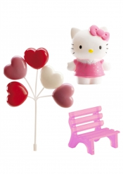 Hello Kitty™ taartdecoratie set
