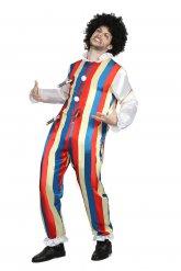 Neergestoken clown kostuum voor mannen
