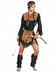 Indiaan kostuum voor vrouwen