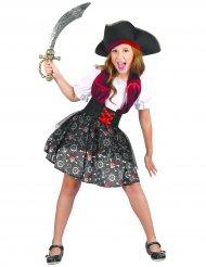Onverschrokken piraat outfit voor meisjes