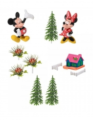 Set taartversieringen Mickey en Minnie Mouse™