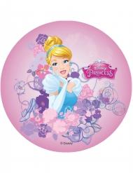 Eetbare taart schijf Assepoester™ Disney Prinsessen