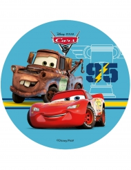 Eetbare taart schijf Cars 3™