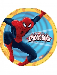 Eetbare Ultimate Spiderman™ schijf 14,5 cm doorsnee