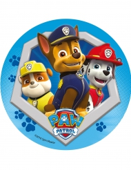Eetbare Paw Patrol™ taartdecoratie