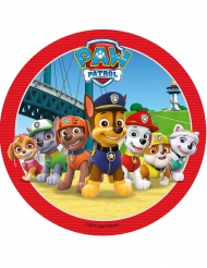 Eetbare Paw Patrol™ taartschijf
