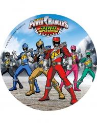 Eetbare Power Rangers™ schijf