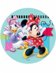 Minnie en Katrien™ eetbare schijf