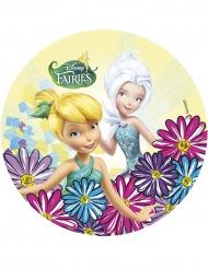 Eetbare taartdecoratie Disney Fairies™
