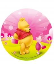 Eetbare schijf Winnie the Pooh™ en Knorretje