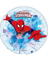 Eetbare Ultimate Spiderman™ ouwel schijf