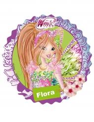 Flora Winx™ suikerschijf