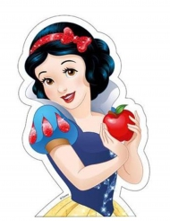 Eetbare taart afbeelding Disney™ Sneeuwwitje