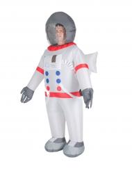 Opblaasbaar astronaut kostuum voor volwassenen