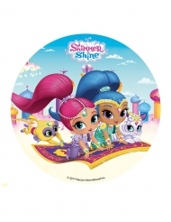 Shimmer & Shine™ suiker schijf
