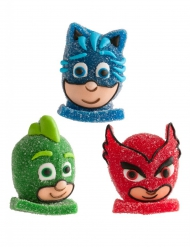 1 PJ Masks™ figuurtje van gelatine