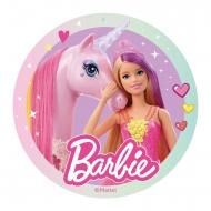 Eetbare schijf Barbie™