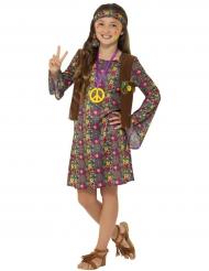 Flower Power hippie outfit voor meisjes