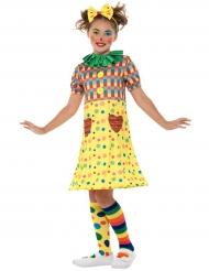Grappig clown kostuum voor meisjes