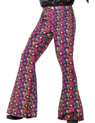 Flower Power hippie broek voor mannen