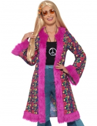 Flower Power hippie jas voor dames