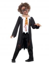 Zombie magische scholier kostuum voor kinderen