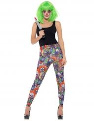Evil clown legging voor vrouwen