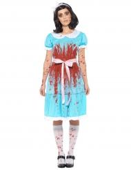 Bloederig Alice prinses kostuum voor vrouwen