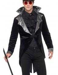 Luxe gothic vampier slipjas voor volwassenen