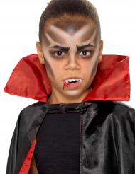Vampier schminkset met gebitje voor kinderen