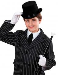 Zwarte hoge hoed voor kinderen