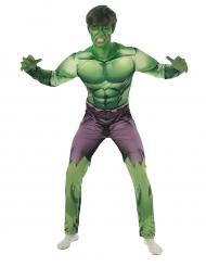 Klassiek gevoerd Hulk™ kostuum voor volwassenen