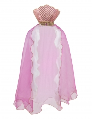 Roze zeemeermin cape voor meisjes
