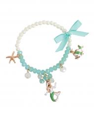 Muntkleurige zeemeermin armband voor meisjes
