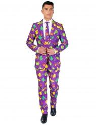 Mr. Mardi Gras Suitmeister™ kostuum voor mannen