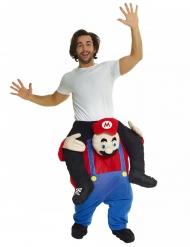 Morphsuits™ op de rug van een loodgieter kostuum voor volwassenen