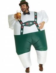 Opblaasbaar Morphsuits™ Tiroler kostuum voor volwassenen