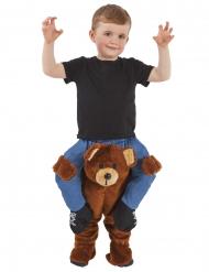 Gedragen door een teddybeer Morphsuits™ kostuum voor kinderen