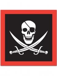 16 piraten servetten