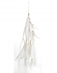 Witte veren hangdecoratie